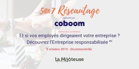 5@7 Drummondville : Et si vos employés dirigeaient votre entreprise ? tickets