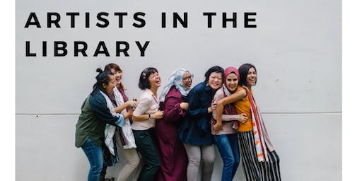 """Artists in the Library FREE Workshops: """"Cultural Explorations with Stories"""""""