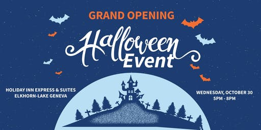 Grand Opening Halloween Event at the Holiday Inn Express Elkhorn