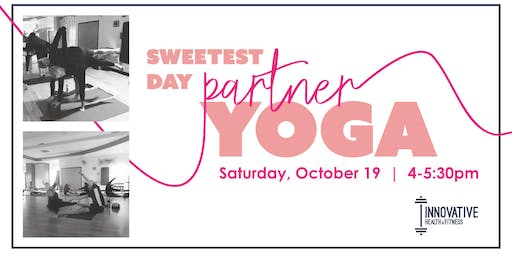Sweetest Day Partner Yoga!