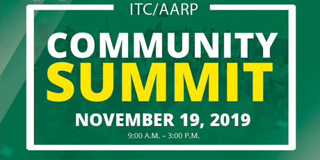 ITC/AARP Community Summit tickets
