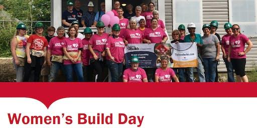 Women's Build Day with Habitat MidOhio