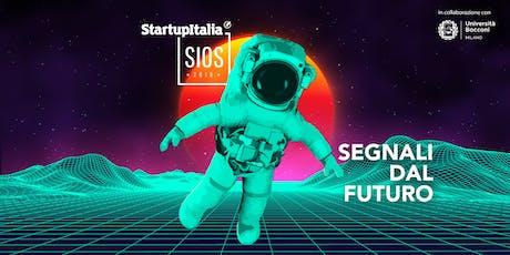 #SIOS19 StartupItalia Open Summit 2019 biglietti