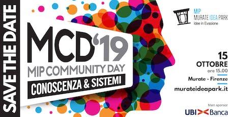 MCD'19 - Conoscenza e Sistemi biglietti