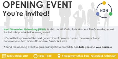 Next Generation Networking - Launch Event