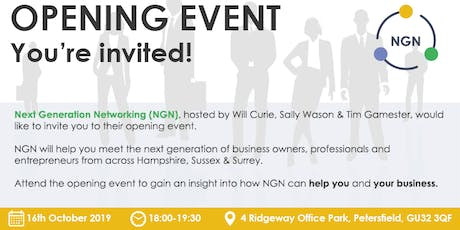 Next Generation Networking - Launch Event tickets