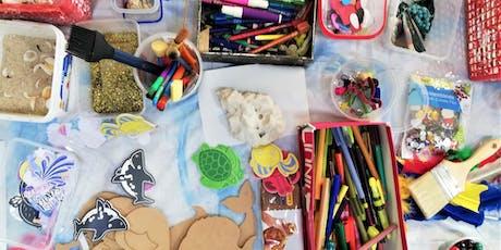 "OCTOBER HOLIDAY ART WORKSHOPS:  ART-VENTURES:  ""Kool Kraft for Kids"" tickets"