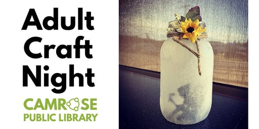 October Adult Craft Night