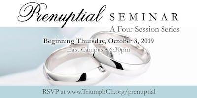 Triumph Prenuptial Seminar - Fall 2019