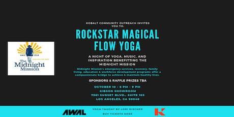 Rockstar Magical Flow Yoga tickets