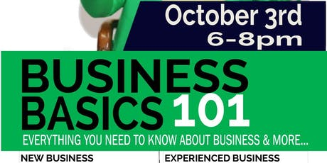 Business Basics 101 Cedar Hill tickets