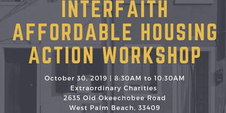 Interfaith Affordable Housing Action Workshop tickets