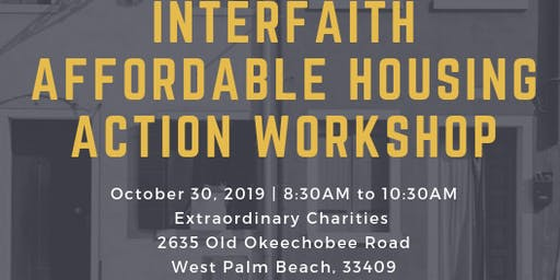 Interfaith Affordable Housing Action Workshop