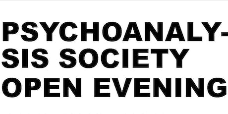 Psychoanalysis Society Open Evening tickets