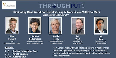 Eliminating Real-World  Bottlenecks using AI from Silicon Valley to Mars tickets