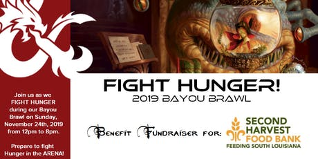 """""""Fight Hunger, Bayou Brawl 2019"""" benefit for Second Harvest Food Bank tickets"""