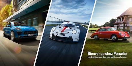 Welcome to Porsche - Bienvenue chez Porsche tickets