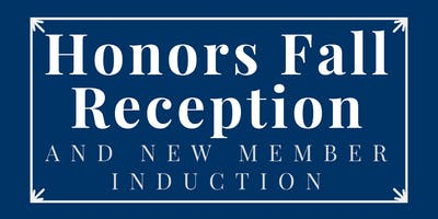 Fall Welcome Reception and New Member Induction