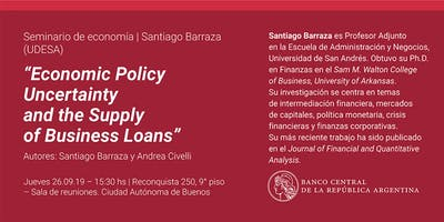 Seminario de Economía | Santiago Barraza (UDESA)