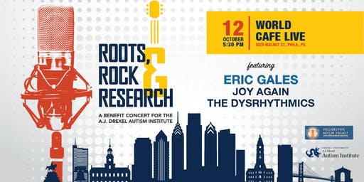 Roots, Rock & Research: A Benefit for the AJ Drexel Autism Institute