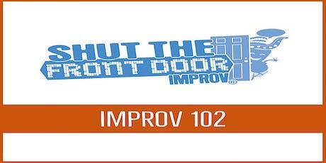 Shut The Front Door: Adult Improv 102  - Starting October 9, 2019 tickets