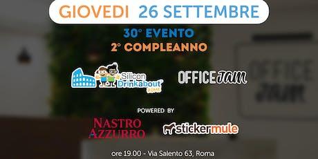 #30 Silicon Drinkabout Rome - 26 settembre biglietti