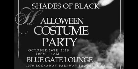 Shades Of Black Halloween Costume/Masquerade Party tickets