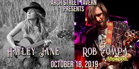 Hayley Jane and Rob Compa at Arch Street Tavern tickets