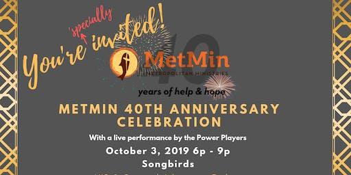 Motown Throwdown - MetMin's 40th Anniversary Celebration