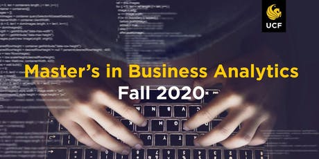 Professional MSM Business Analytics Info Session 10/16/2019 tickets