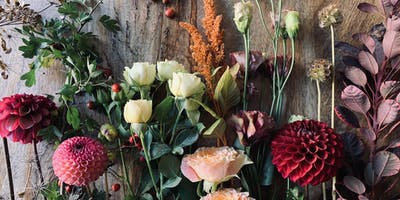 Autumn floral workshop