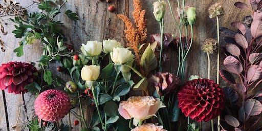 Autumn floral workshop