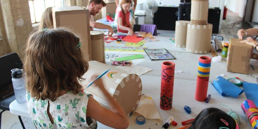 An Invitation to Play,  intergenerational workshop with Anna Manfield