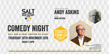 Kill For A Seat Comedy with Andy Askins tickets