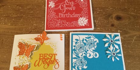 Papercraft - making personalized cards tickets