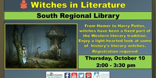 Witches in Literature at South Regional Library