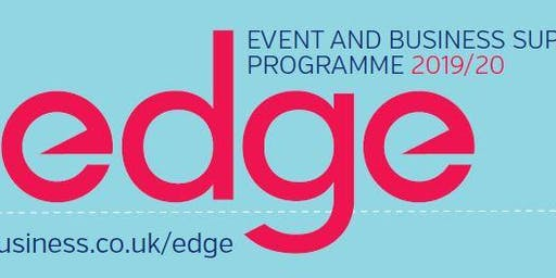 edge Business Support Programme 2019/2020 - Launch Event