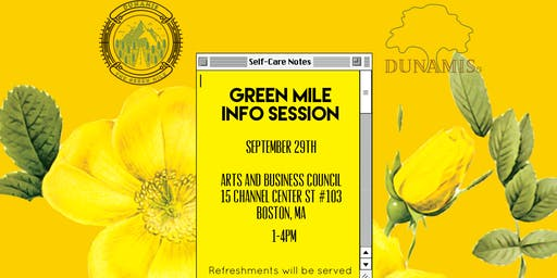 Green Mile Info Session