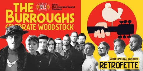 105.5 The Colorado Sound and Color Red Present: The Burroughs Celebrate Woo tickets