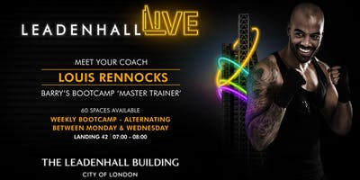 Leadenhall Live LED-Fit Bootcamp