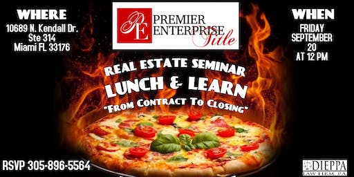 """Real Estate Seminar """"From Contract To Closing"""""""