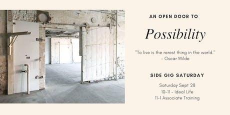 Side Gig Saturday tickets
