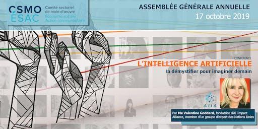 AGA CSMO-ÉSAC 2019   + Conférence intelligence artificielle