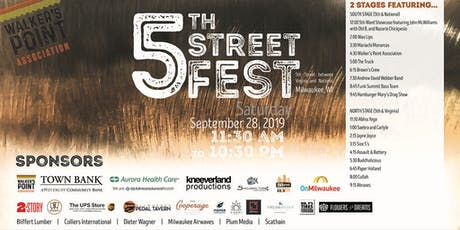 5th Street Fest presented by Walker's Point Association tickets