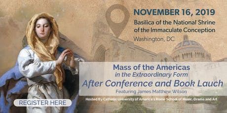Mass of the Americas EF - The After Conference tickets