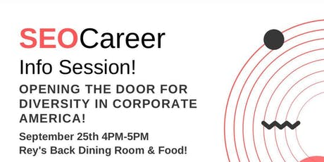 SEO Career Info Session tickets