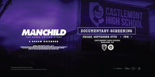 "MANCHILD ""The Schea Cotton Story"" Screening @ Castlemont High School"