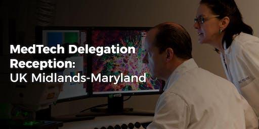 MedTech Delegation from UK Midlands & Maryland Reception