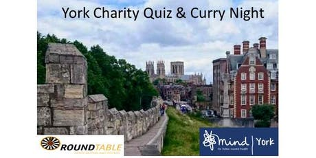 York Round Table Charity Quiz & Curry Night tickets