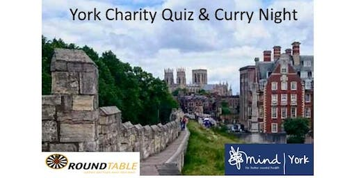 York Round Table Charity Quiz & Curry Night